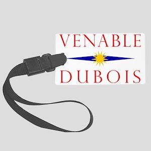 venable_dubois_mugs Large Luggage Tag