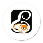OCCH Logo Round Car Magnet