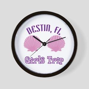 Destin Girls Trip - Wall Clock