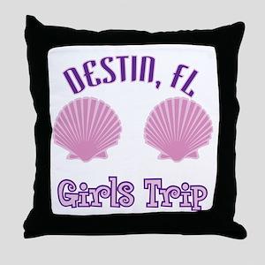 Destin Girls Trip - Throw Pillow