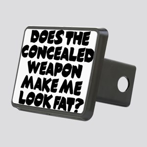 Does The Concealed Weapon  Rectangular Hitch Cover