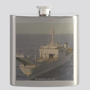 frederick framed panel print Flask