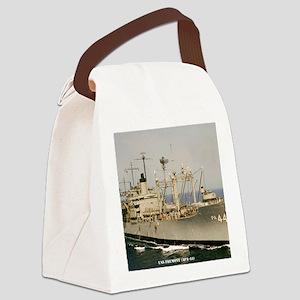 fremont framed panel print Canvas Lunch Bag