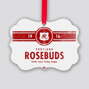 Portland Rosebuds Picture Ornament