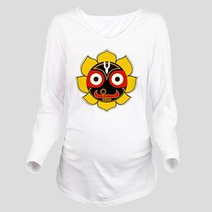 Jagannath Long Sleeve Maternity T-Shirt