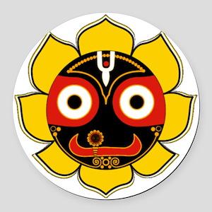 Jagannath Round Car Magnet