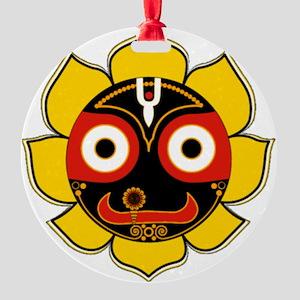 Jagannath Round Ornament
