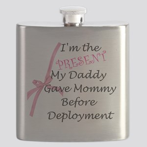 Present from Daddy-Girl Flask