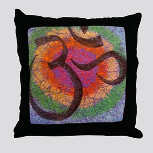 chakraomlrge Throw Pillow