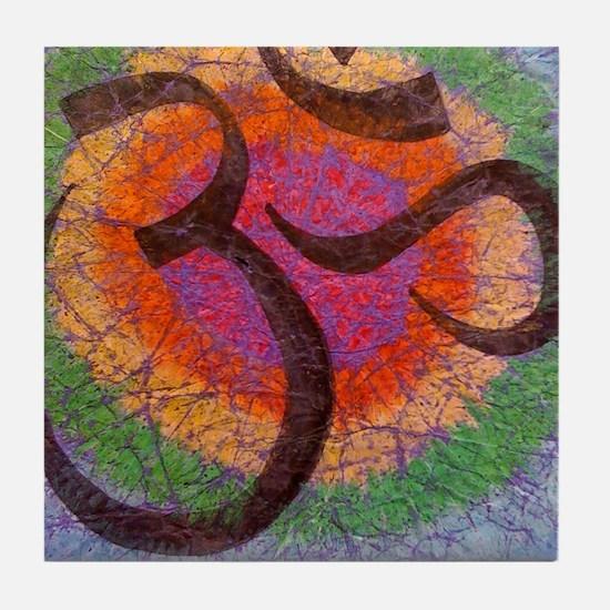 chakraomlrge Tile Coaster