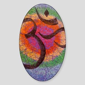 chakraomlrge Sticker (Oval)