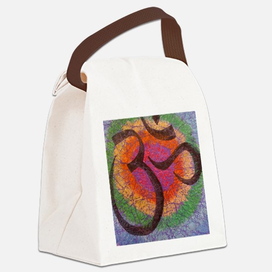 chakraomlrge Canvas Lunch Bag