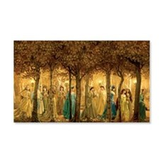 THE 12 DANCING PRINCESSES Wall Decal