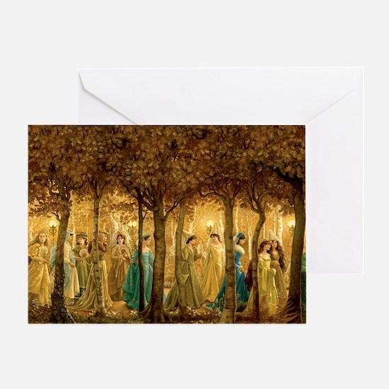 THE 12 DANCING PRINCESSES Greeting Card