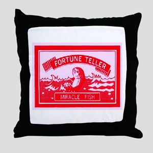 FORTUNE TELLER MIRACLE FISH Throw Pillow