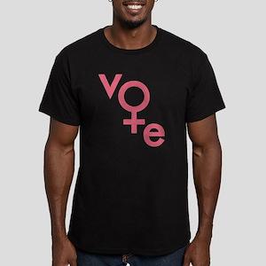 Women Vote Men's Fitted T-Shirt (dark)