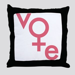 Women Vote Throw Pillow