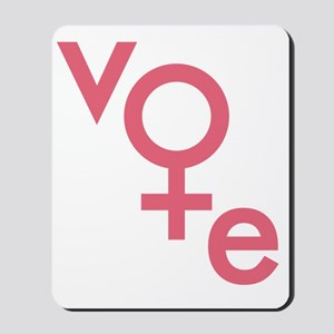 Women Vote Mousepad