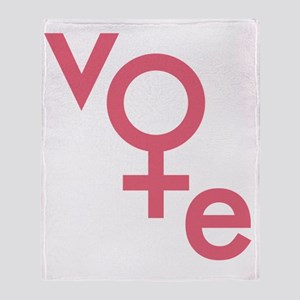 Women Vote Throw Blanket