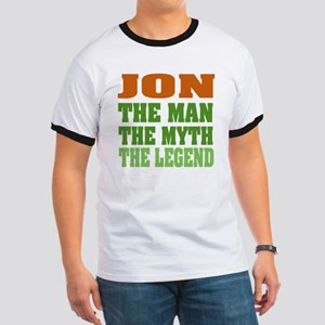 Jon - the Legend Ringer T