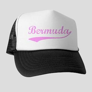 Vintage Bermuda (Pink) Trucker Hat