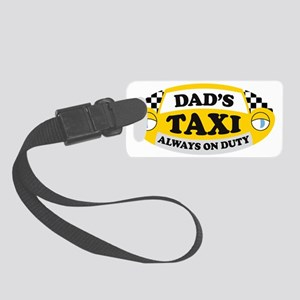 DADtaxioval Small Luggage Tag