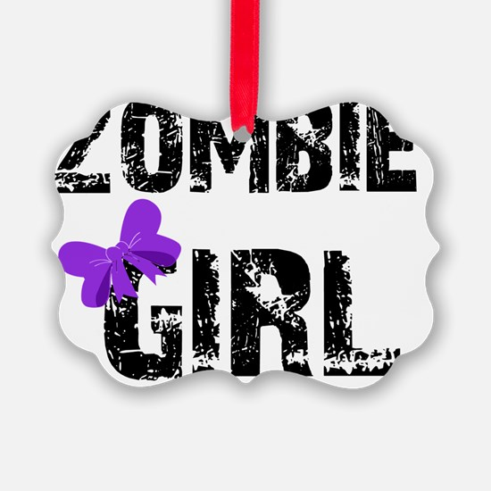 zombiegirldark Ornament