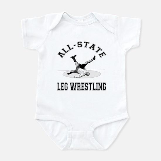 All-State Leg Wrestling Infant Bodysuit