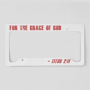 Titus 2 11 License Plate Holder
