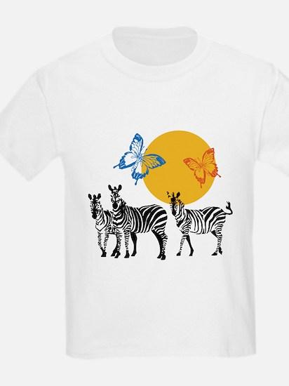 Hendrix - Little Wing (Butterflies and Zebras) T-S