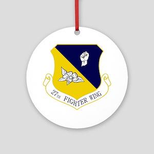 27th FW Round Ornament