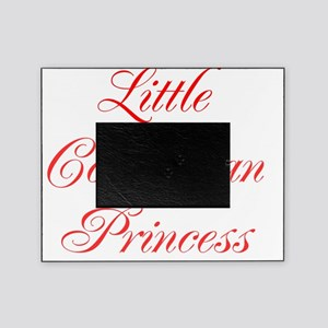 Little Colombian Princess Picture Frame