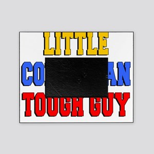 Little Colombian Tough Guy Picture Frame