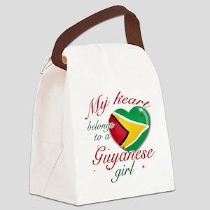 guyanese girl Canvas Lunch Bag