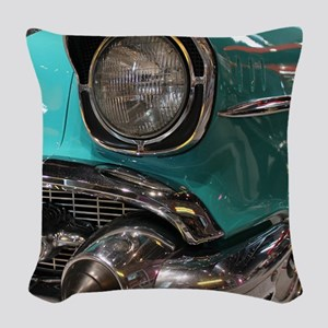 57 RM Woven Throw Pillow