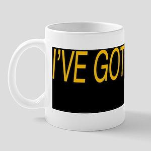 ive got hives bumper sticker Mug