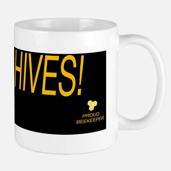 ive got hives bumper sticker Mug