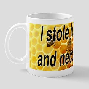 i stole his honey Mug
