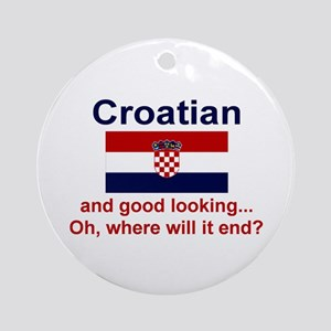 Good Looking Croatian Keepsake Ornament