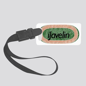 i javelin Track and Field Small Luggage Tag