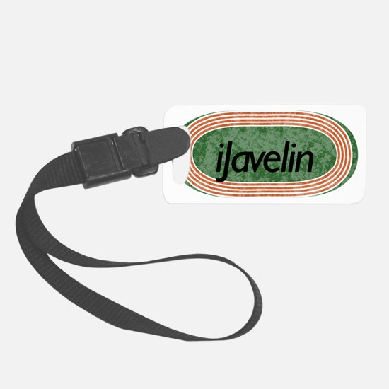 i javelin Track and Field Luggage Tag