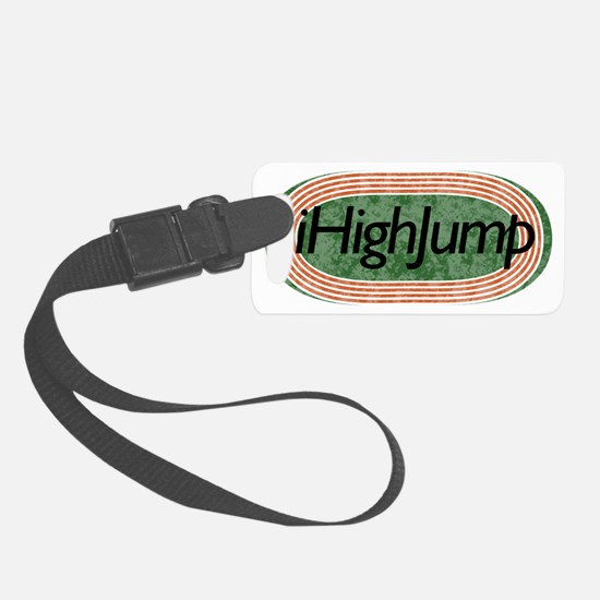 i High Jump Track and Field Luggage Tag