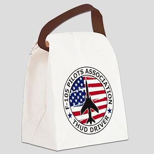 F105pilotsassoc Canvas Lunch Bag