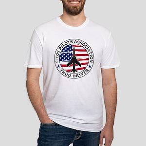 F105pilotsassoc Fitted T-Shirt