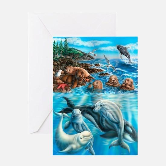 Sea_Life_23x35 Greeting Card