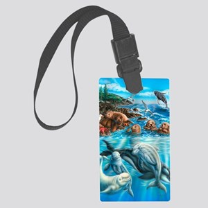 Sea_Life_23x35 Large Luggage Tag
