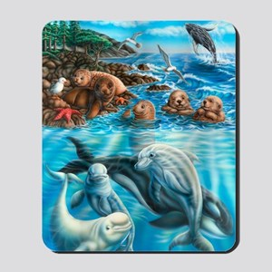 Sea_Life_23x35 Mousepad