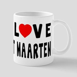 I Love Sint Maarten Mug