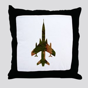 f105camo Throw Pillow