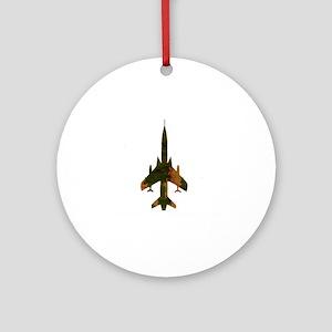 f105camo Round Ornament